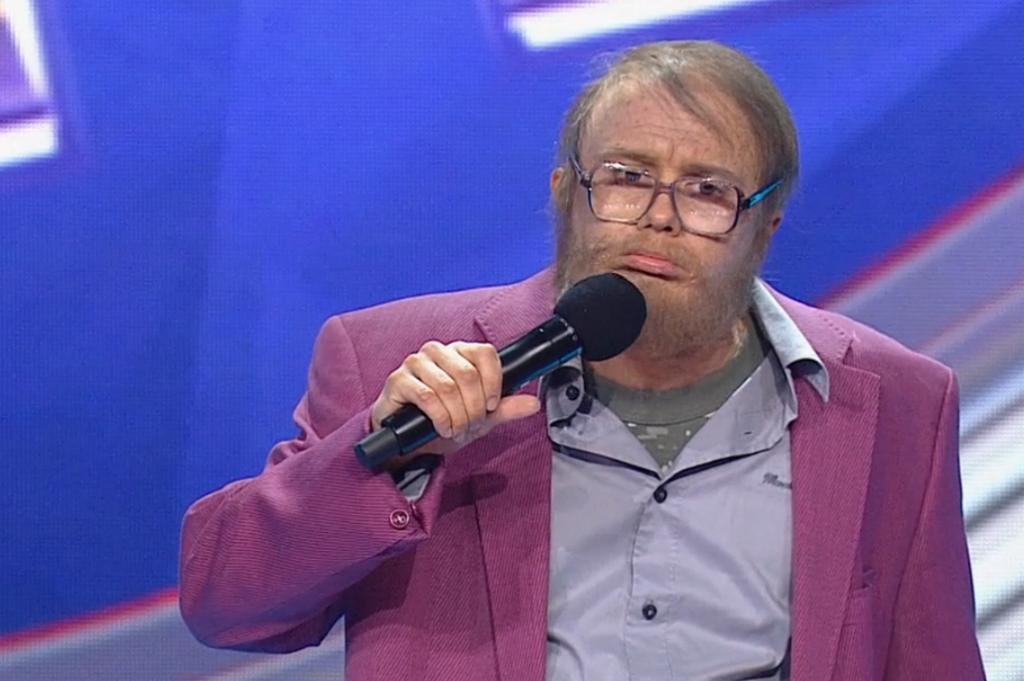 Дядя Витя в последнем сезоне Камеди Баттл, первый тур